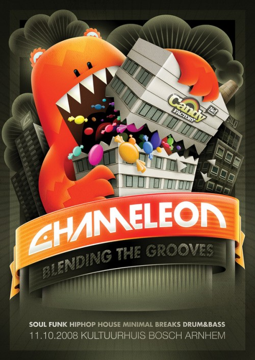 13_Chameleon - Candy Factory Flyer