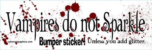 13_Vampires Dont Sparkle Sticker