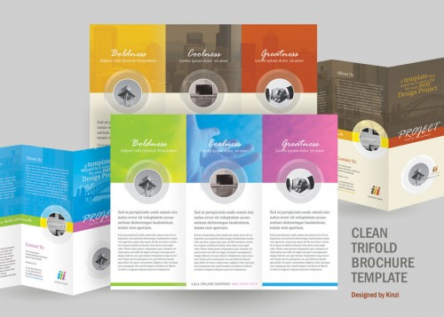 30 Best Tri Fold Brochure Designs For Your Inspiration