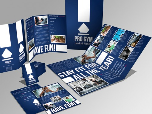 19_4 Pages Brochure Trifold