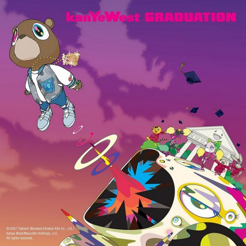 1_Kanye West – Graduation Album Cover