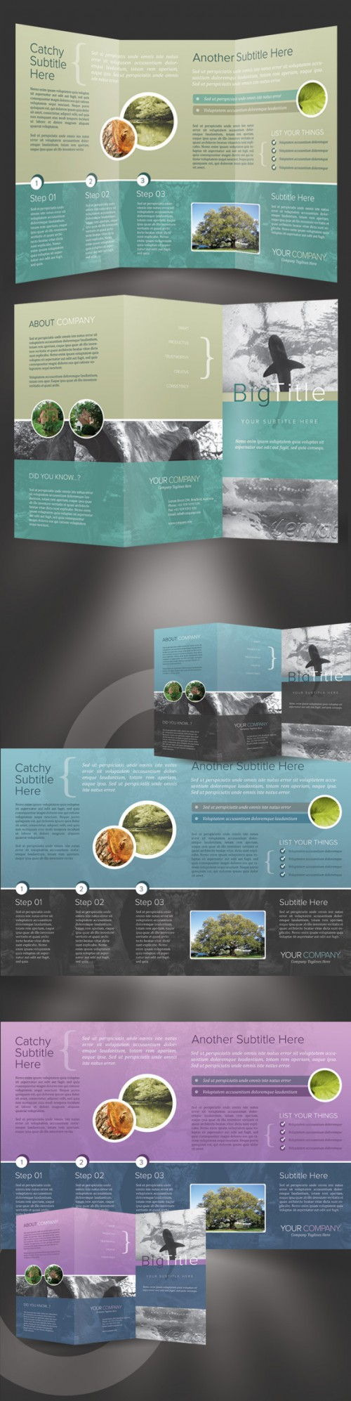 20_Trifold Brochure Template