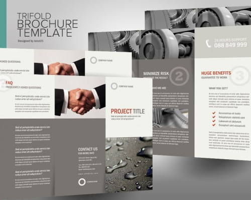 28_Trifold Brochure templates