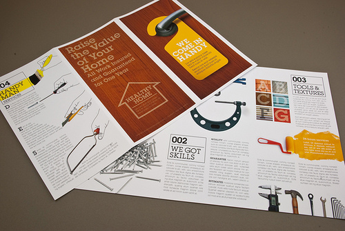 2_Home Maintenance Brochure with Wood Background
