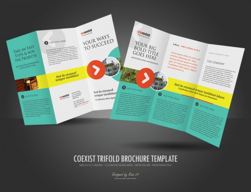 30_Trifold Brochure Template