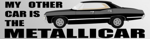 4_Metallicar Bumper Sticker