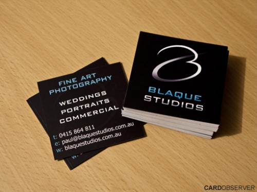 5_Square Business Card