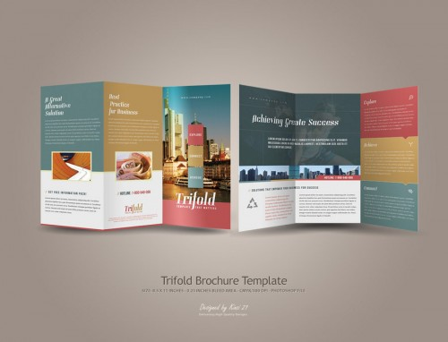 6_Trifold Brochure Template