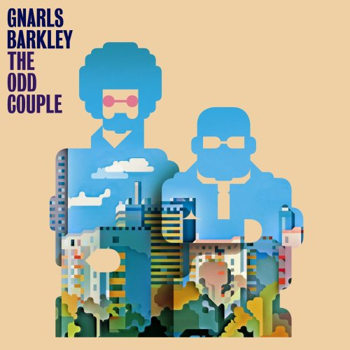 8_Gnarls Barkley The Odd Couple Album Cover