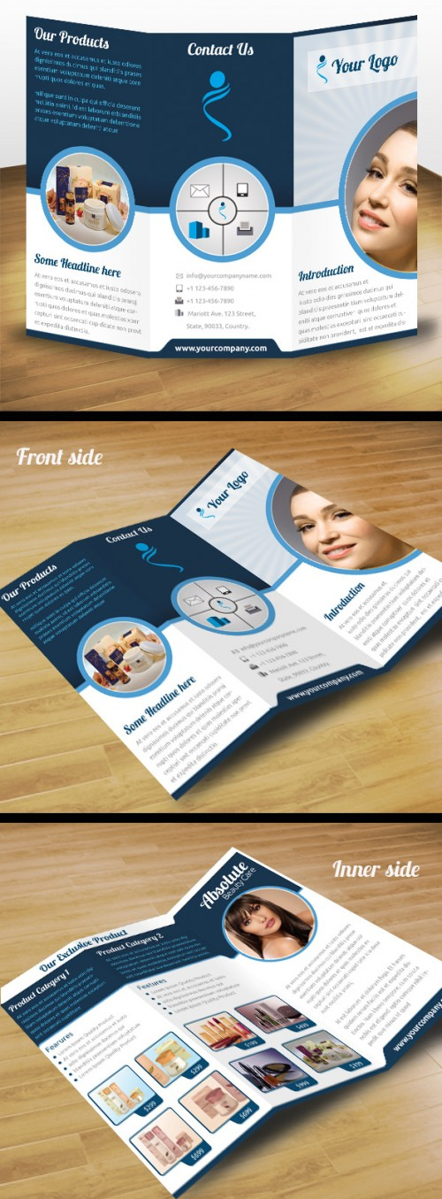 9_Business Product Tri Fold Brochure