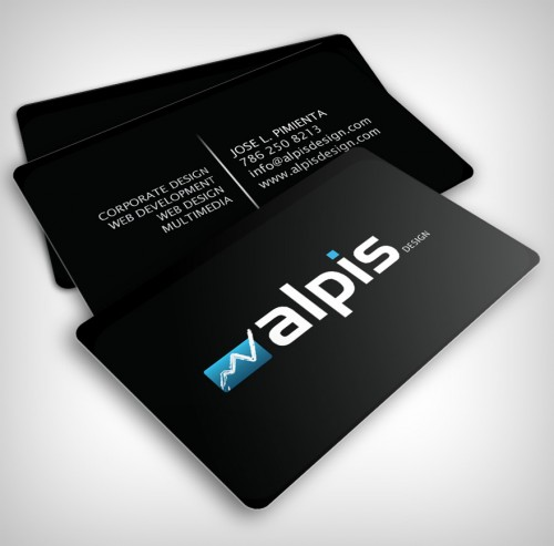 Alpis Design Business Card