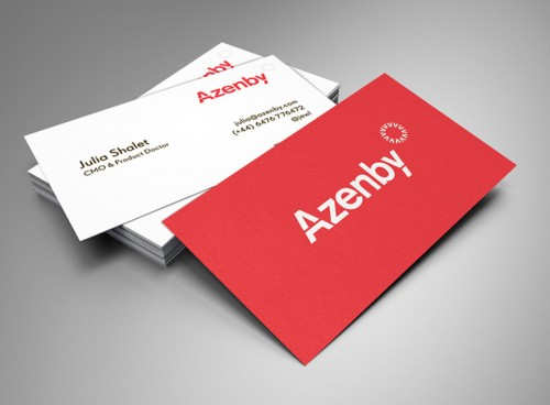 Azenby – Business Cards