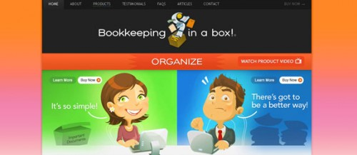Bookkeeping in a Box!