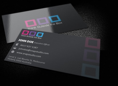 Box Business Card