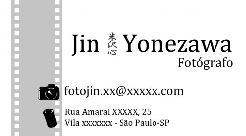 Business Card for Photographer by NaRuSP