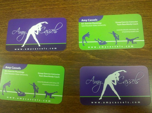 Business Cards - Amy Cassels