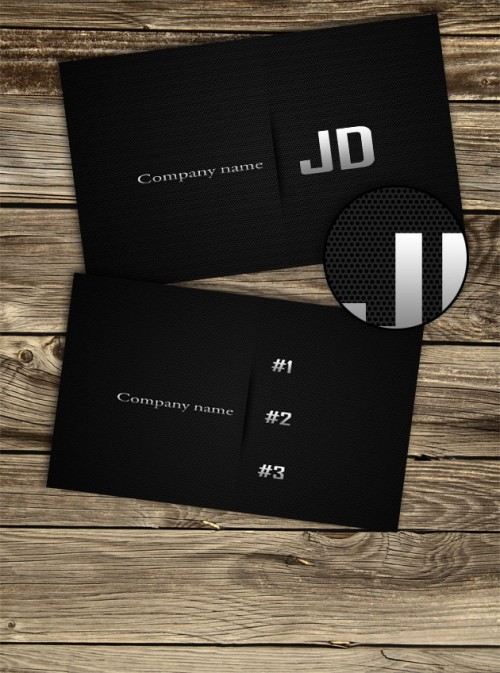 Carbon business cards