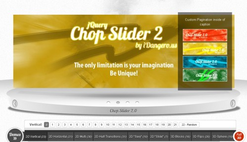 Chop Slider 2 jQuery Plugin