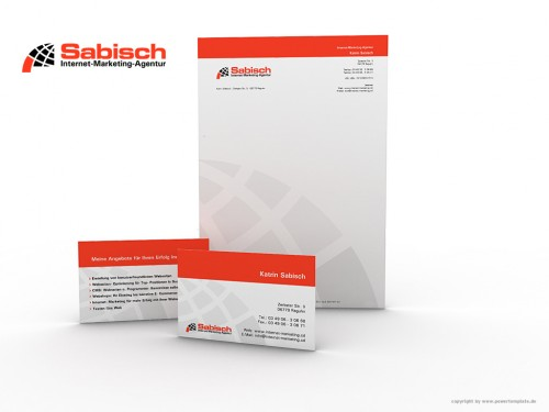 corporate design by dr devil - Letterhead Design Ideas