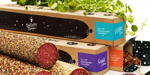Creative Salami packaging