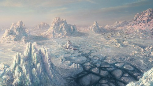 Environment ICE SCAPE