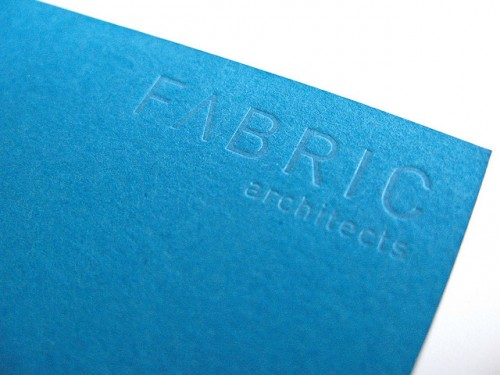 Fabric Architects Business Card