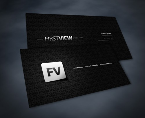 First View Business Card