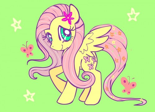 FlutterShy sticker by TermanianStar