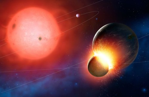 Four White Dwarfs Found Eating Earthlike Planets