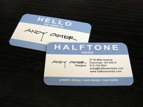 HALFONEmedia Business Cards