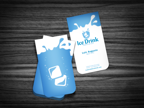 Ice Drink - Business Card