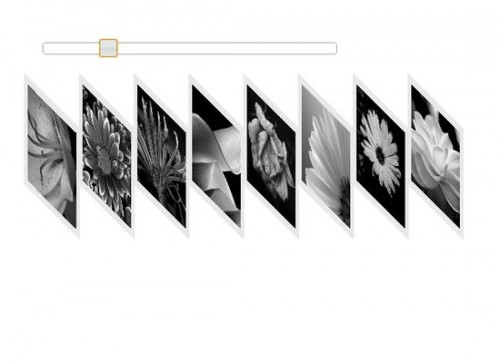 JQuery Expand Stacked Images Using Slider