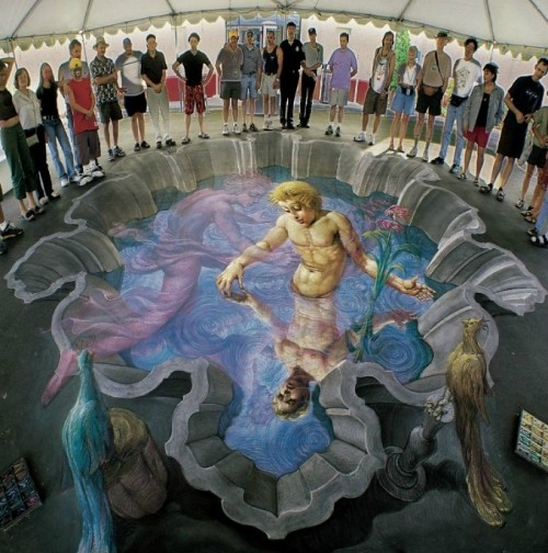 Kurt Wenner, Echo and Narcissus