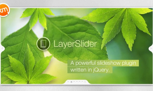 LayerSlider – The Parallax Effect Slider
