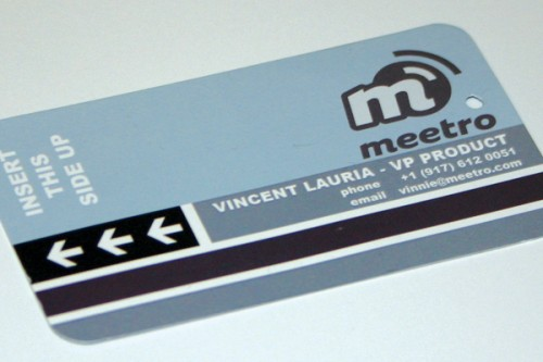 Meetro Business Card