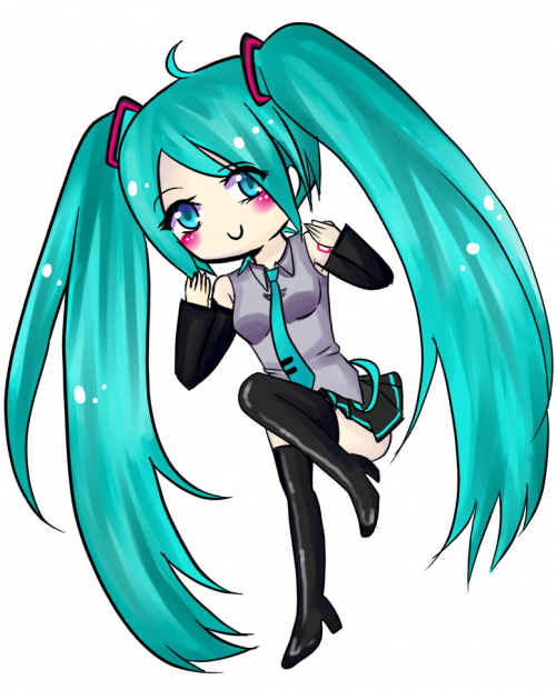 Miku Sticker