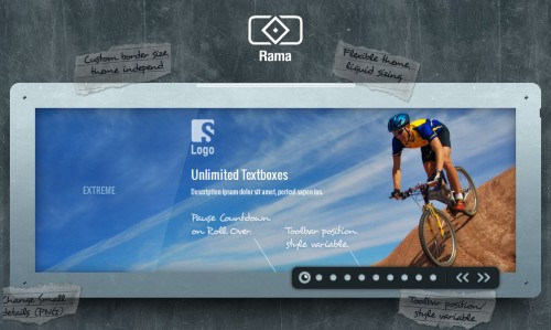 Rama – The jQuery Slider Plugin