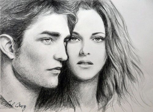 Robert and Kristen in Twilight
