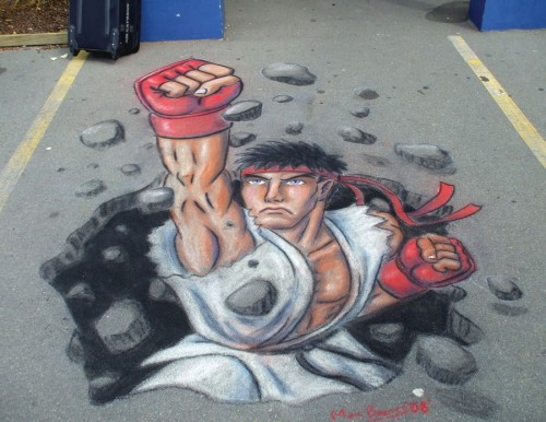 Ryu 3D Pavement Art