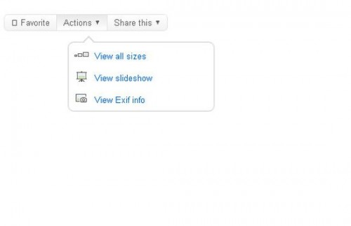 Simple JQuery Flickr Style Tooltip Menu