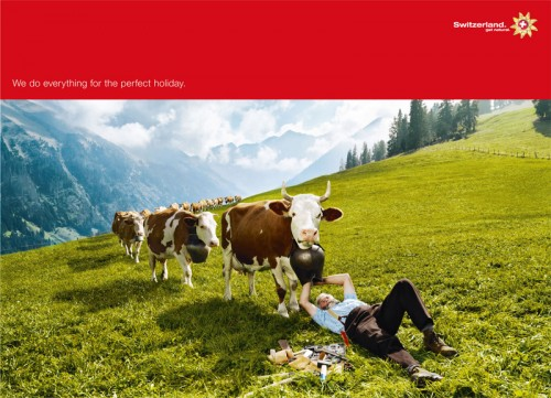 Swiss Tourism We'll Do Anything, Cowbell