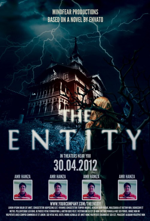 The Entity Horror Movie Poster