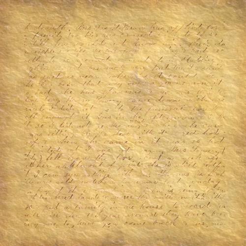 old letter texture