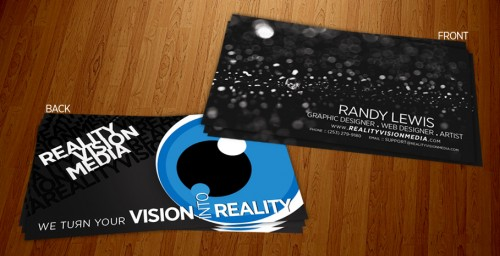 rvmedia business cards