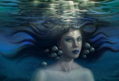 underwater by Jean Roux