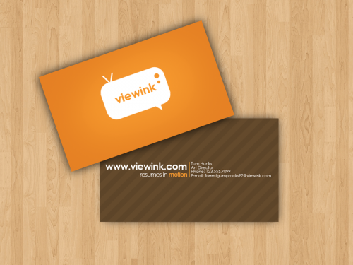 viewink business card