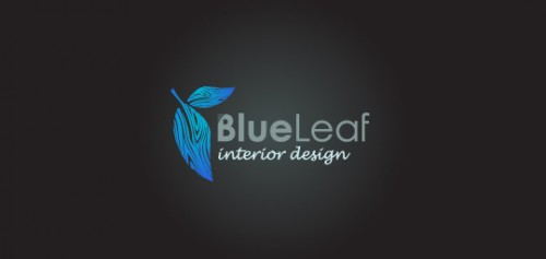 20 unique and inspiring leaf logo design examples for Interior design logo inspiration