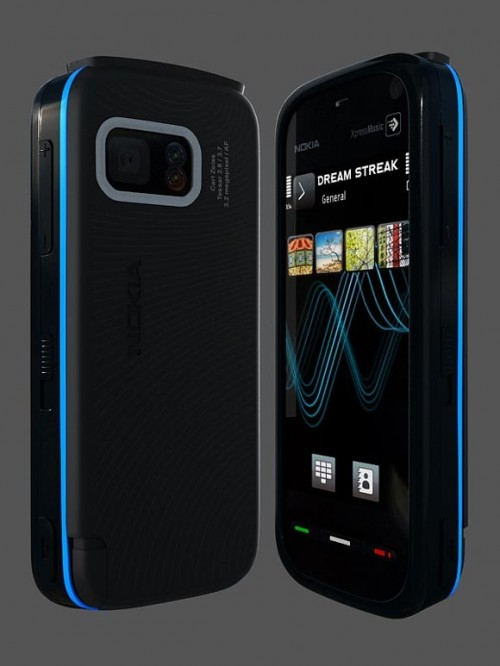 Create a Realistic Looking Nokia 5800
