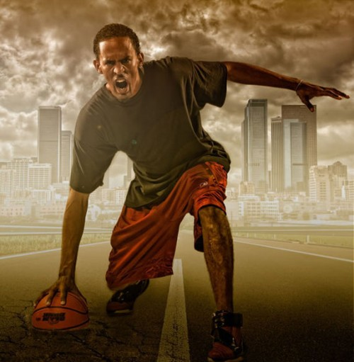 Create a Studio Sports Portrait