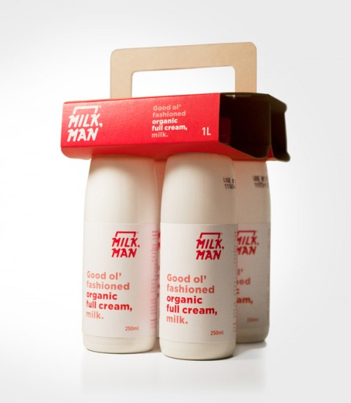 MILK,MAN Packaging